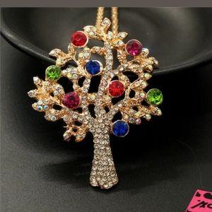 Betsey Johnson Tree Necklace